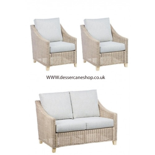 Desser Dijon 2 Seater Suite Comprises 2 Seater Sofa and 2 Chairs Suite
