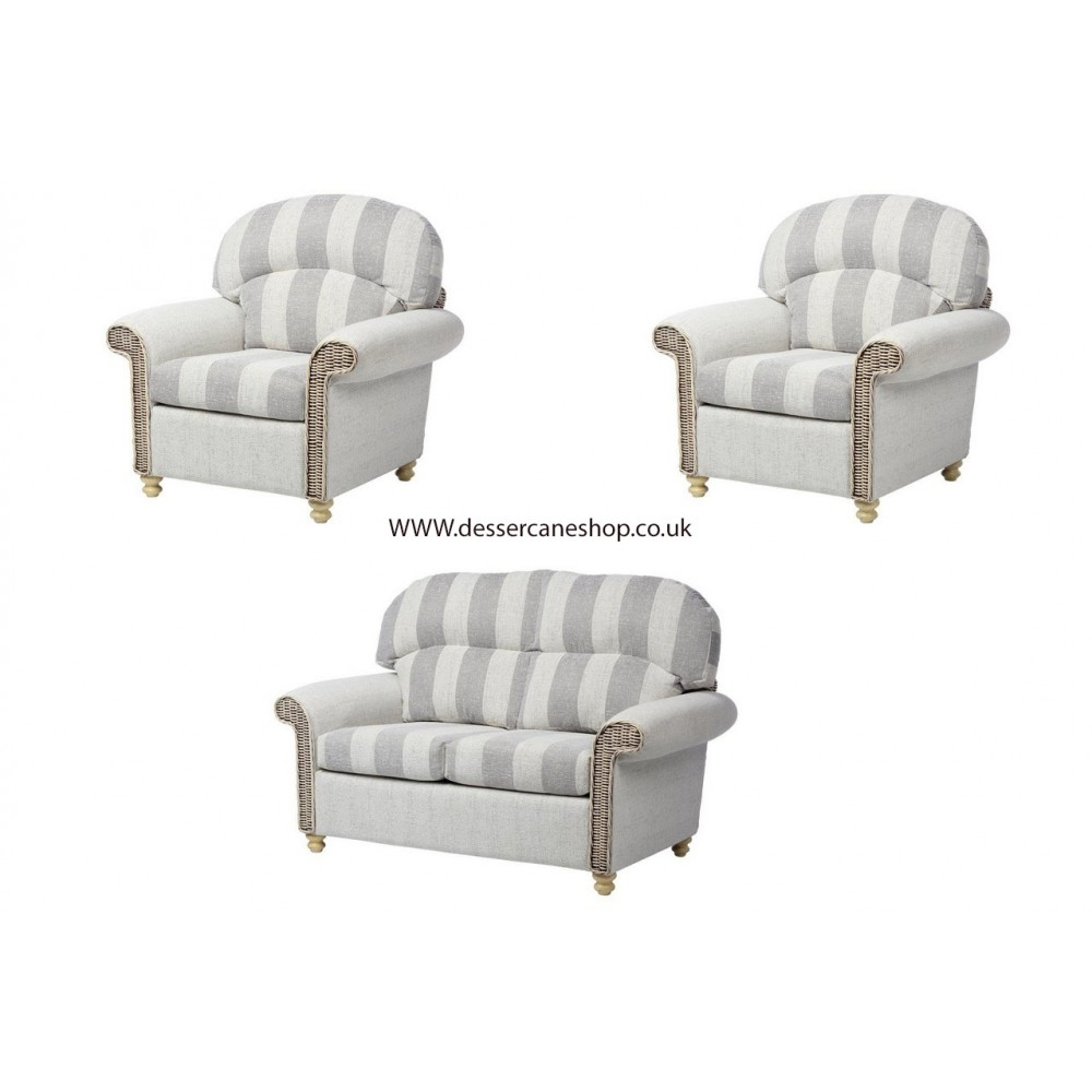 Desser Stamford Pillow Back (Traditional) 2 seater suite (2 seater + 2 armchairs)