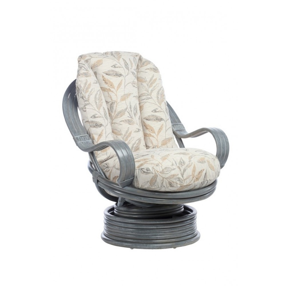 Desser Bali Swivel Rocker Grey Finish