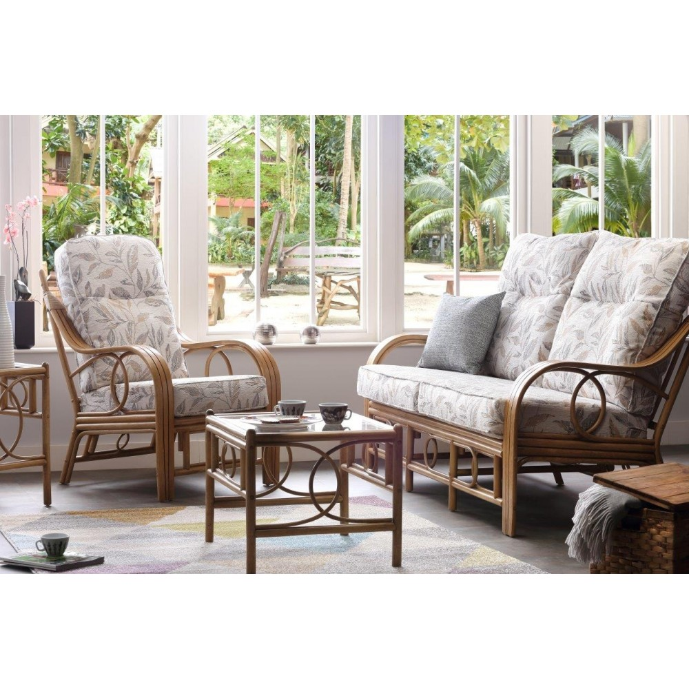 Desser Madrid 3 Seater Sofa + 2 Chairs Suite