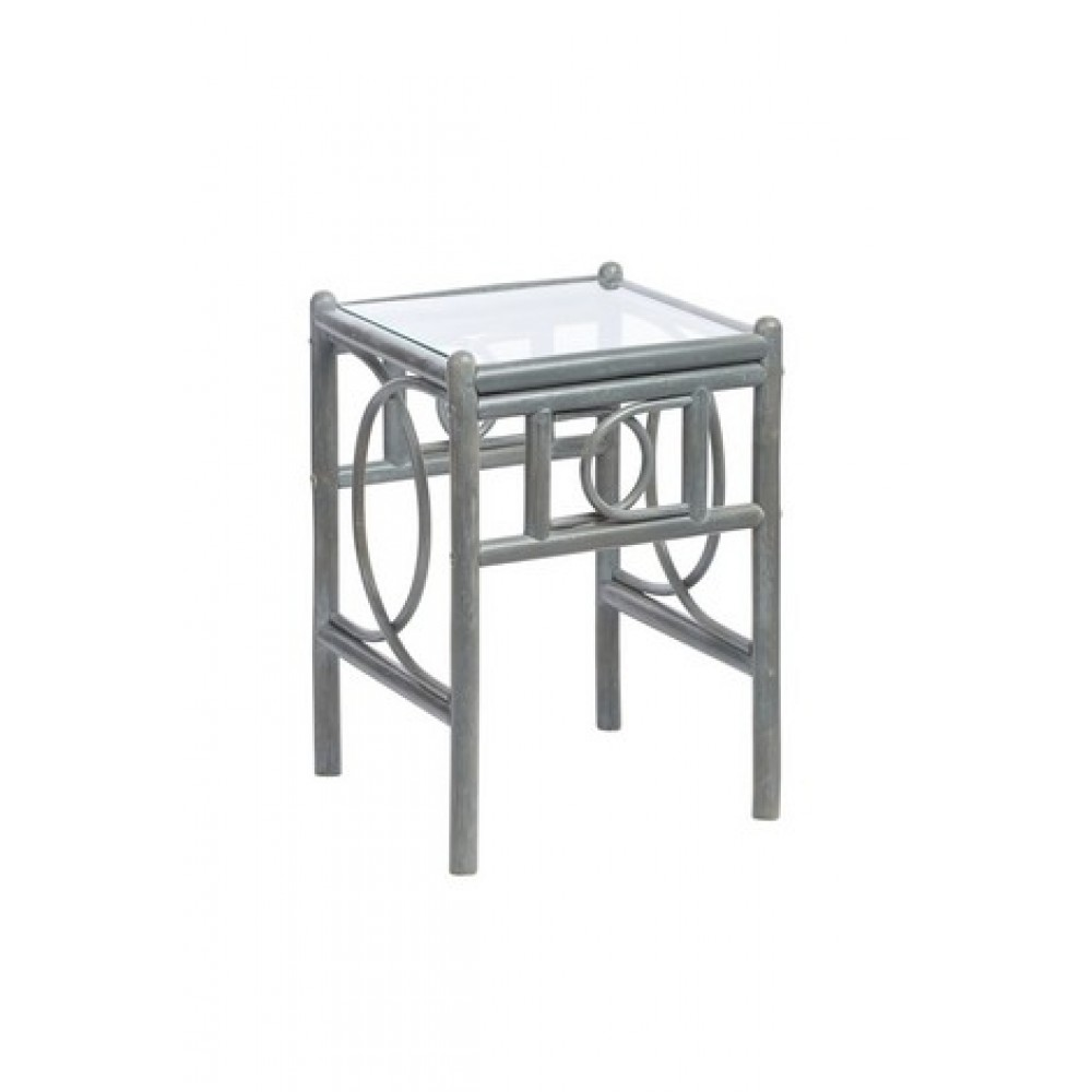 Desser Madrid Lamp Table Grey Finish