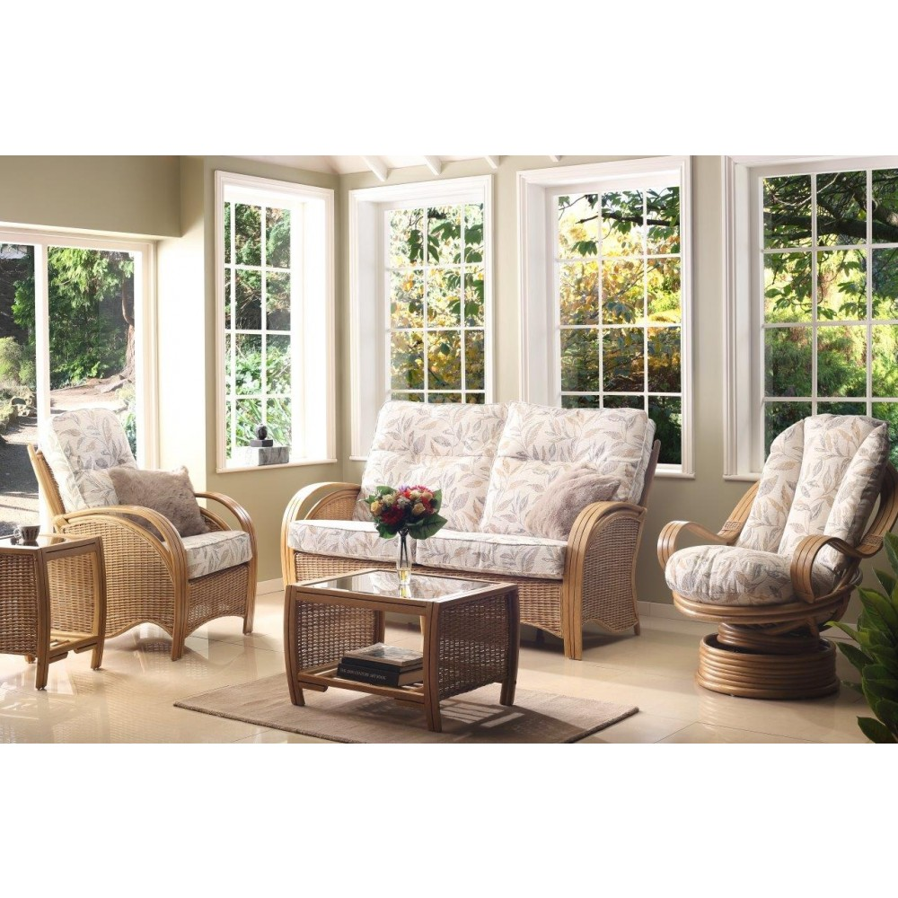 Desser Manila 3 Seater Sofa & 2 Chairs Suite