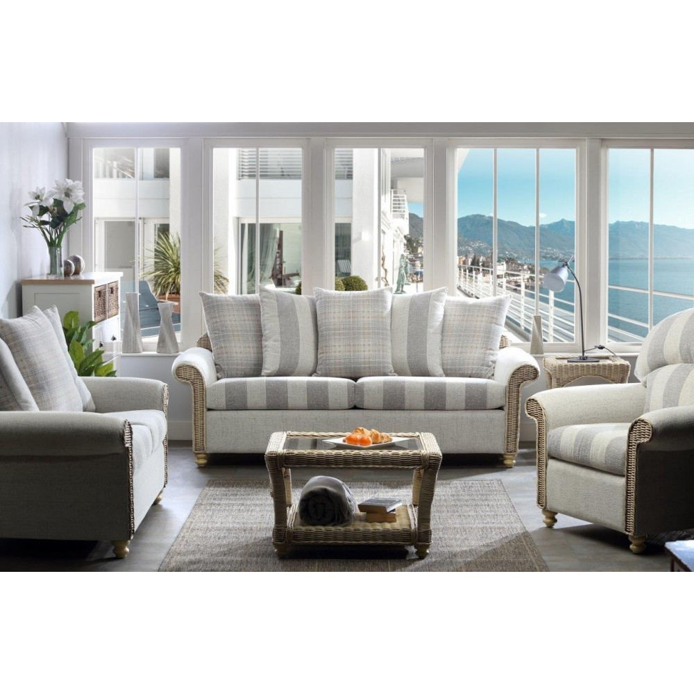 Desser Stamford 3 Seater Sofa & 2 Chairs Suite