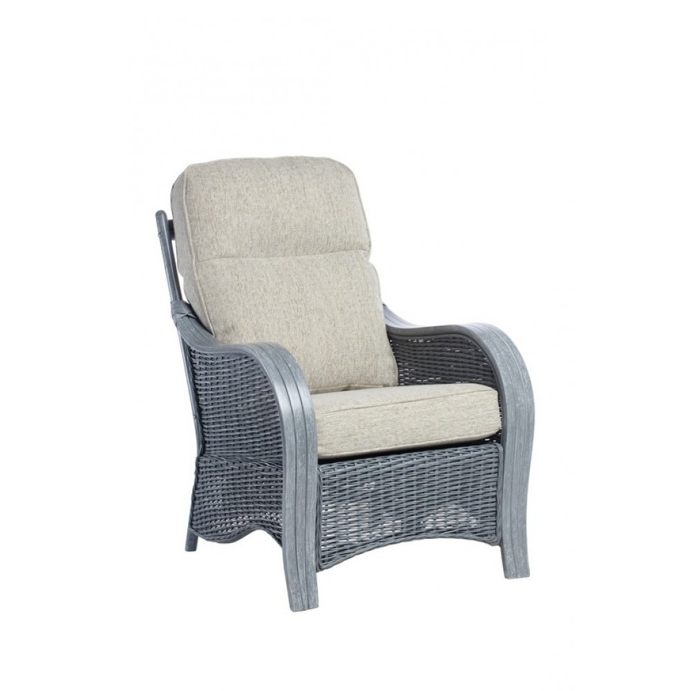 Desser Turin Arm Chair Grey Frame