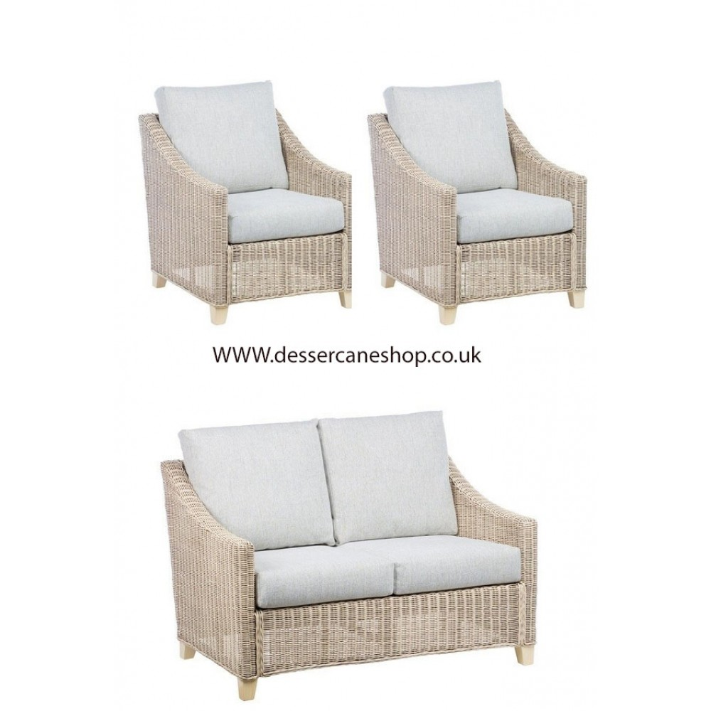 Desser Dijon 2 Seater and 2 Chairs Suite