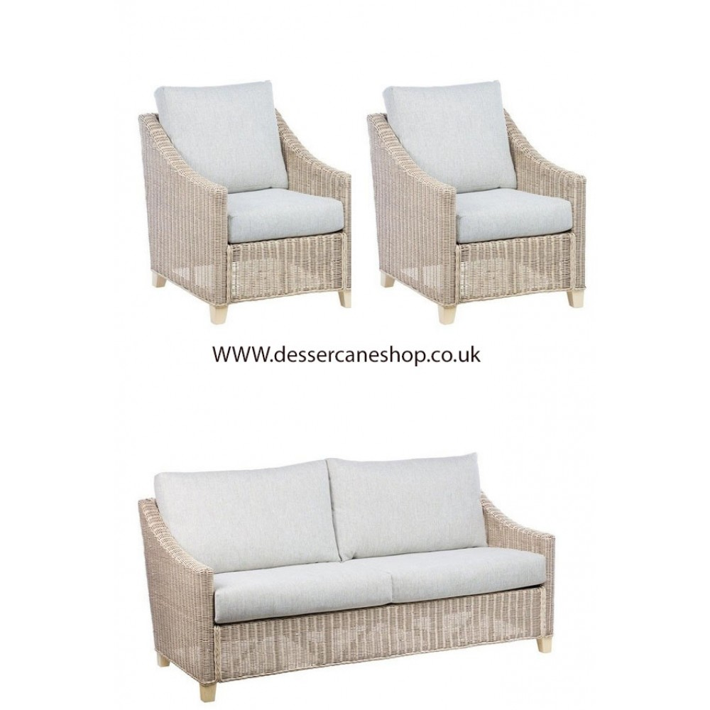Desser Dijon 3 Seater and 2 Chairs Suite
