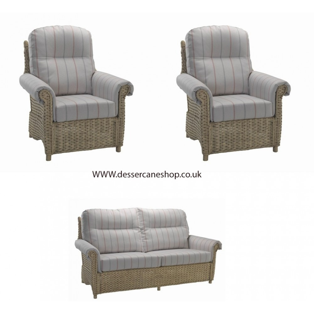 Desser Harlow 3 Seater + 2 Chairs Suite