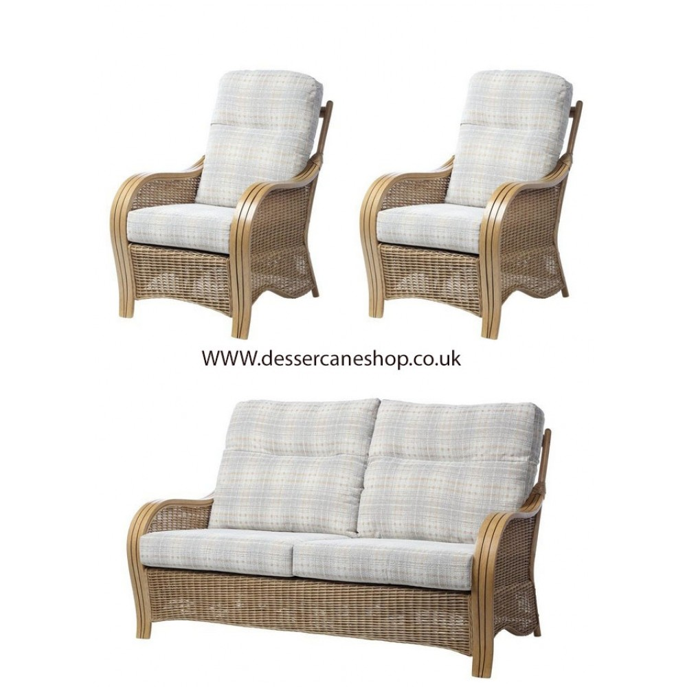 Desser Turin 3 Seater Sofa & 2 Chairs Suite