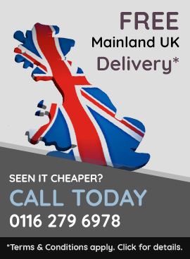Free Mainland UK Delivery. Seen in cheaper? Call today: 0116 279 6978